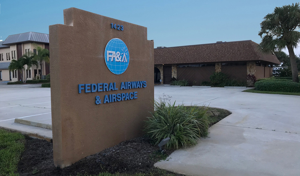 Federal Airways and Airspace office building exterior view